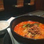 お得なので今月2回目️名古屋駅のエスカにある「想吃担担面」が半額(^^)v 名駅で打合せ→仕事後遅めのランチ( ^ω^ ) 今回は、汁あり坦々麺900円がなんと️ お得なクーポンを使用すると450円の半額に️ そしてご飯お代わり無料(*⁰▿⁰*)だから、二杯目は坦々麺のスープをかけて〜坦々飯️ ふと、この時間に来る人は同じクーポン利用の方だけだと思ったら( ̄(工) ̄)違った️ 普通の料金の方も2組 情報を知ってるか?知らないかで変わるんだなぁ〜っと(*⁰▿⁰*)伝えてくれた人に感謝( ^ω^ ) #名古屋 #名古屋駅 #エスカ #坦々麺 #想吃担担面 #家計費削減 #支出 #削減 #楽しい #豊かに #学び